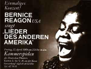 April 1968 Paul Robeson Festival and Exhibition, Germany